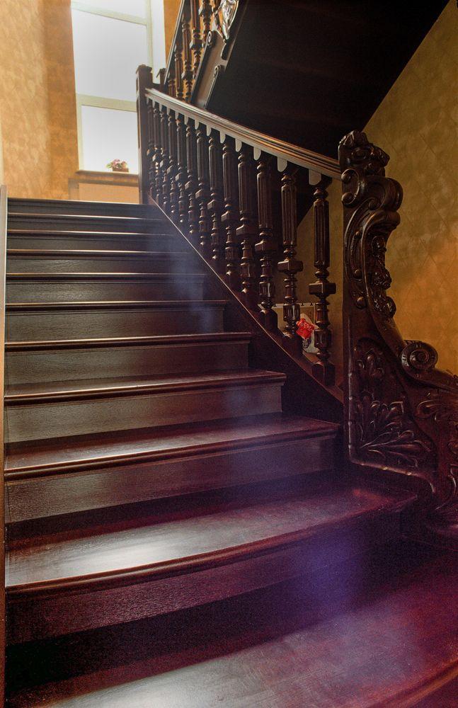 Дом с резной лестницей и кабинетом