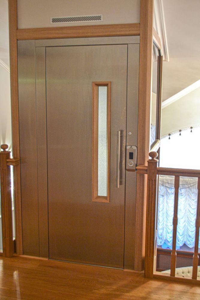 Загородный дом с лифтом
