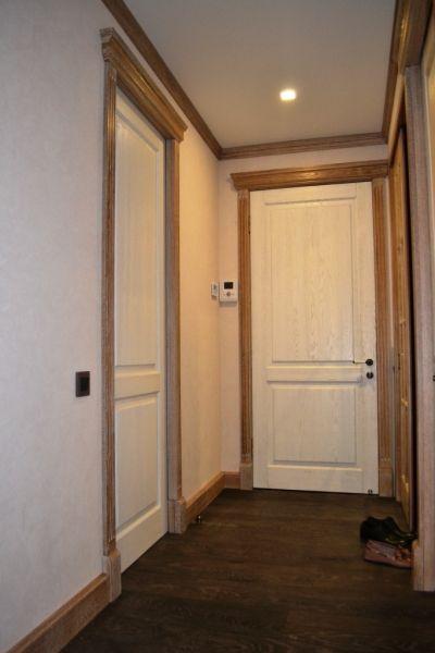 Межкомнатные двери из белёного дуба