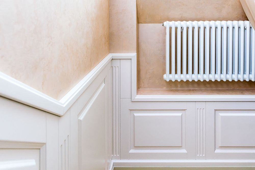 Лестница в классическом стиле из ясеня
