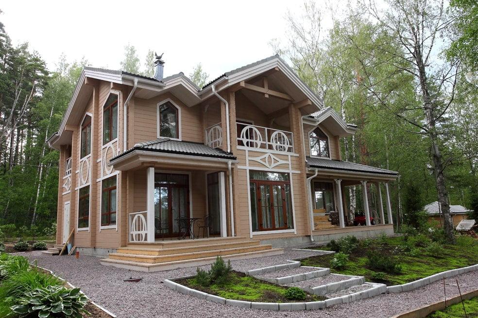 Декоративные элементы для фасада дома и ограждения из фанеры
